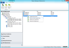 Veeam Explorer for SAN Snapshots