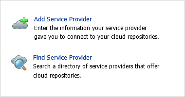 Customers can search for your cloud backup offering right from their backup console.